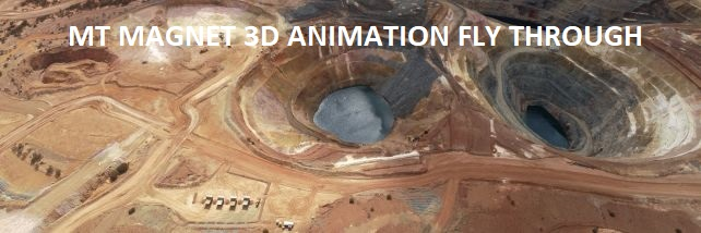 Mt Magnet 3D Animation Fly Through