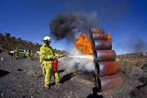 ERT Team Fire Training